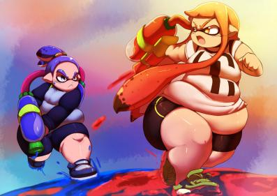 Splatoon WG Story: You're a kid now, you're obese now