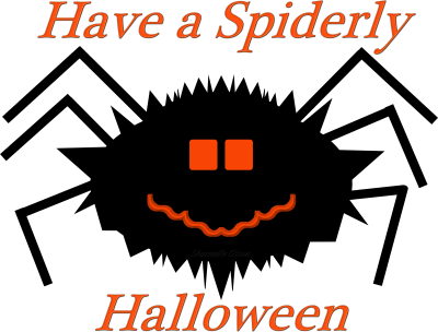Have a Spiderly Halloween!!!