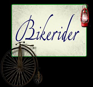 Bike with lantern