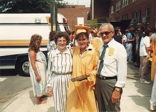 My Late Niece and My Parents at Her Graduation