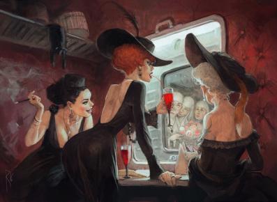 Painting by Waldemar Kazak