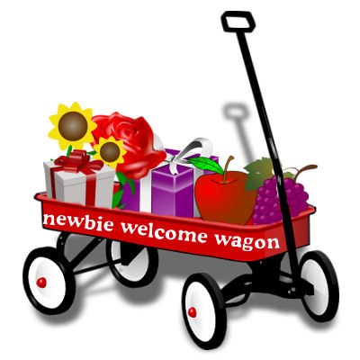 Image for 'The Newbie Welcome Wagon'