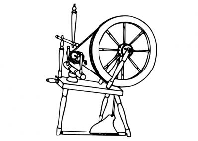 Spinning wheel for group forum.