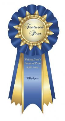 Featured Poet Ribbon - April 2019