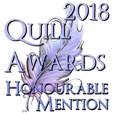 Signature for Honorable Mentions in 2018 Quill Awards