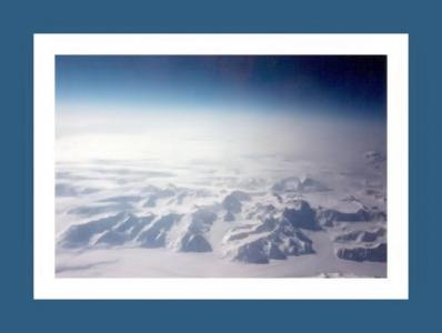 Anyone know what these are? The Swiss Alps? The North Pole? Nope...