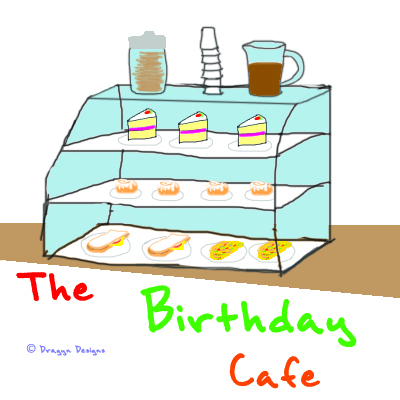Cover image for the Birthday Cafe