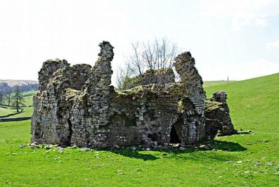 Image of ruins that was once Lammerside Castle