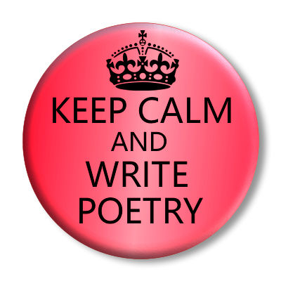 Poetry button from Minja