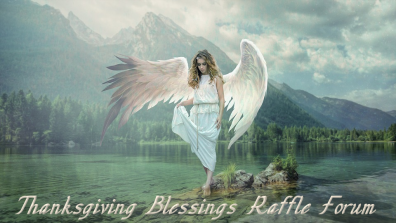 the angel of blessed giving