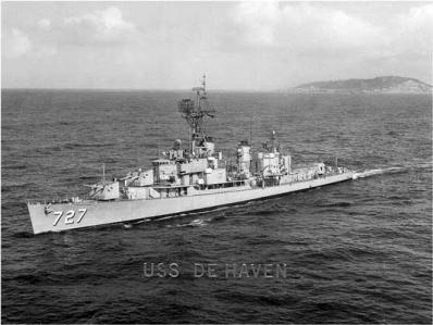 The Destroyer that Dad served on during the Korean War