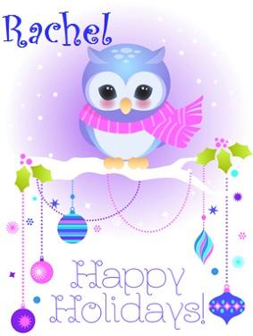Holiday owl created by GeminiGem