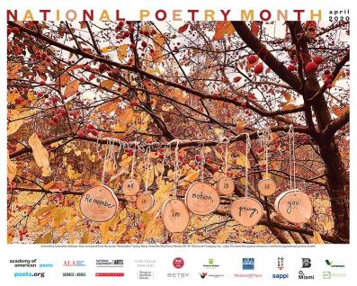 National Poetry Month Poster 2020