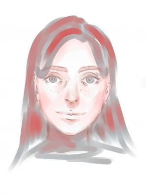 Sketch of Mrs. K