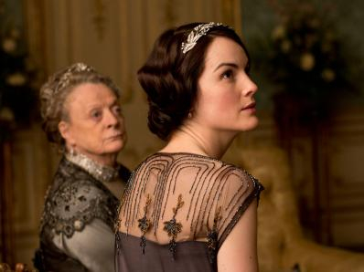 Violet and Mary picture, Downton Abbey.