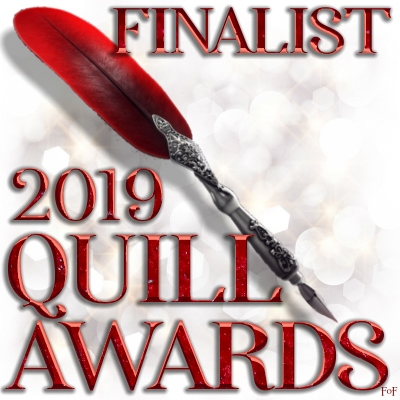 A signature for those who place as finalists in the 2019 Quill Awards