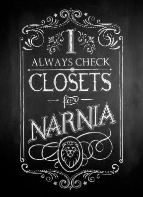 A Narnian connection.