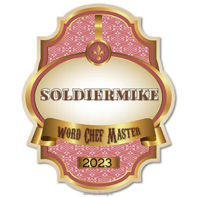 Word Chef Master Award