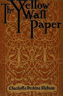 cover of the short story by Charlotte Perkins