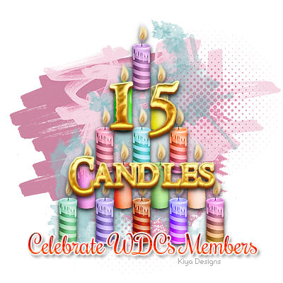 This is an image for WDC's 15th Anniversary Celebration
