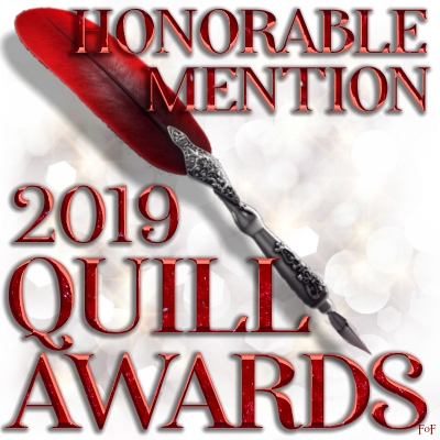 A signature for exclusive use for members with Honorable Mentions in the 2019 Quill Awards