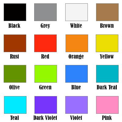 Custom Awardicons: Ribbon Colors