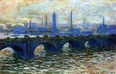 Claude Monet's Waterloo Bridge -Created: 1899–1903