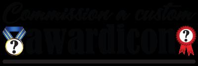 Custom Awardicon header