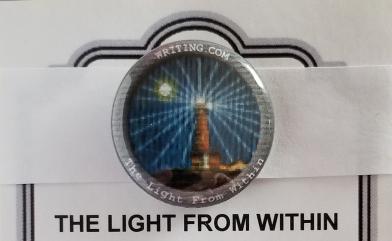 """The badge for September 2020 'The Lighthouse Short Story"""" WINNER."""