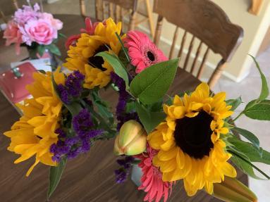A flower bouquet.