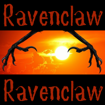 An image for our Ravenclaw group for Harry Potter and the Writers' Spell.