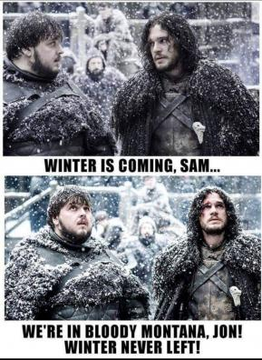 Winter is here?