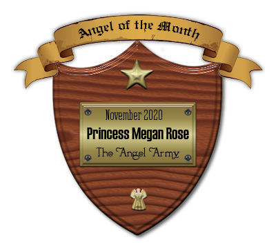 Surprise! My Angel Of The Month Reviewer Plaque