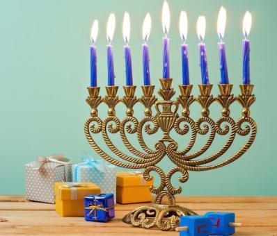 A Candle Menorah