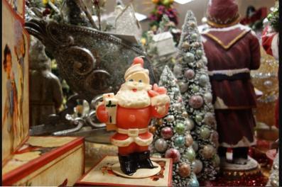 A Vintage Christmas Ornament