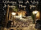 Wishing a Happy New Year
