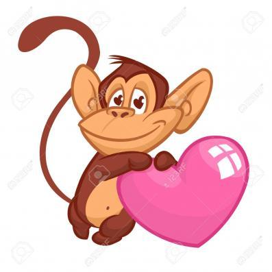 Valentine Monkey