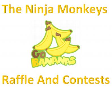 for ninja monkey raffle