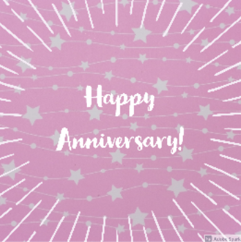 For those who are celebrating anniversaries of writing.com users!