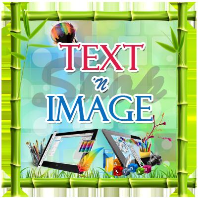 Text n Image Shop Banner