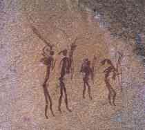 Cave Painting, Zimbabwe
