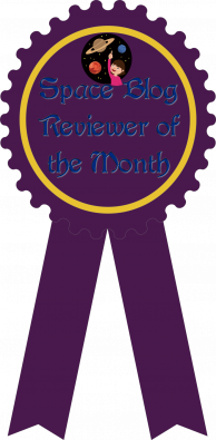Main Ribbon for Space Blog Reviewer of the Month