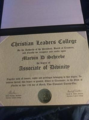 I just earned this. It is my second Associate degree.