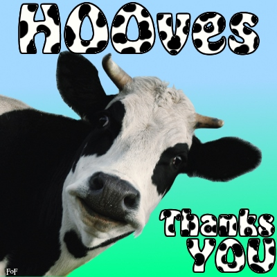 A wonderful signature for anytime.  So MOOving!