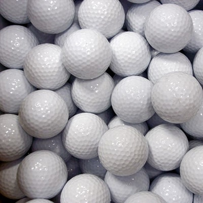 Many golf balls