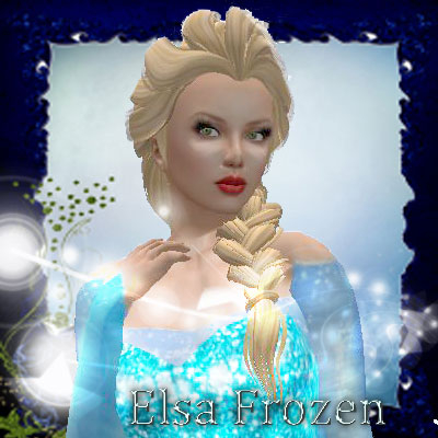 Another beautiful Sig of Elsa from Frozen by best friend Angel.