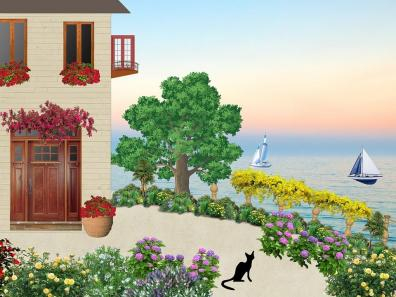 Garden and Sailin' Images ~ Auction