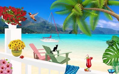 Seaside Glory Image ~ Auction