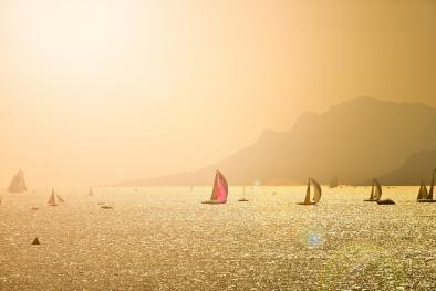 Sailin' at Sunrise ~ Auction Image