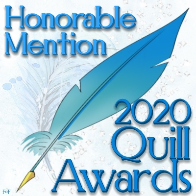 Signature for those who win an honorable mention at the 2020 Quill Awards